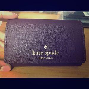 Burgundy Kate spade wallet. Brand new